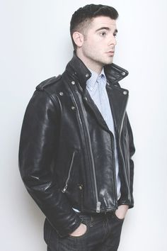 Look At These Men's Jackets. Discover some great men's fashion. With so much fashion for men to pick from currently, it can be a overwhelming experience. Leather Jacket Outfits, Leather Jeans, Biker Leather, Leather Jackets, Black Leather, Cool Jackets For Men, Cheap Jackets, Men's Jackets, Revival Clothing