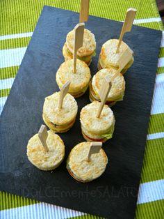 DOLCEmente SALATO: Spiedini di tortillas di cipolle