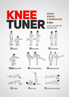 Knee Strengthening Exercises, Exercises For Knees, Exercise For Bad Knees, Thigh Exercises, Quad Exercises, Knee Stretches, Posture Exercises, It Band, Sports Training
