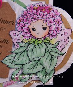 Copic Marker Benelux: Remember yesterday ... - Skin: E0000-E000-E00-E11 - E13-E93 Young leaves: YG05-YG06-YG07 Large leaves: YG41-YG45 Wings: RV00-RV10-RV11-YG00-YG01-YG03 Flowers: RV66-RV55-RV52-YR15 Surface: RV69-RV66-RV63
