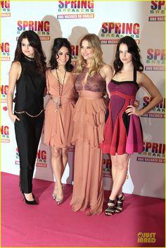 Selena Gomez & Rachel Korine: 'Spring Breakers' Rome Premiere