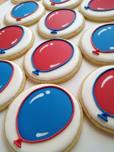 How to make balloon cookies.