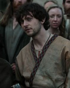 george blagden. guess I need to be catchin my ass up on this show cause...damn.