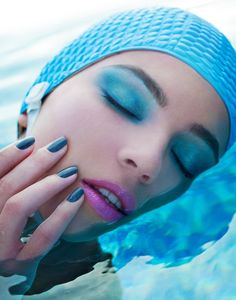 Le Grand Bleu Beauty Editorial by Michael David Adams
