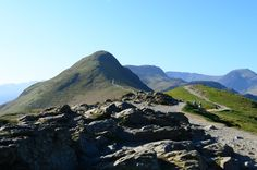 Lake District Walk: Catbells, miles), difficulty rating Near to Derwent Water, Keswick. Wainwright Walks, Moon Over Water, Lake District Walks, Snowdonia, Camping And Hiking, Cumbria, Amazing Adventures, Lakes, United Kingdom