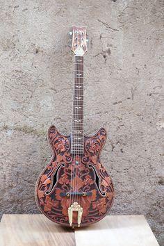 Bluebird '56 Flowerish Carved Guitar 2013 vintage
