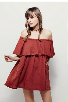Endless Summer Womens Serefina Off The Shoulder Dress