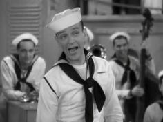 Follow The Fleet - Fred Astaire singing 'I'd Rather Lead A Band' (1936) Musical