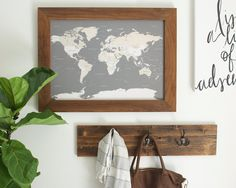 Navy world map reclaimed wood push pin travel map gift for navy world map reclaimed wood push pin travel map gift for husband reclaimed wood frame 24x36 christmas gifts for husband pinterest travel maps gumiabroncs Choice Image