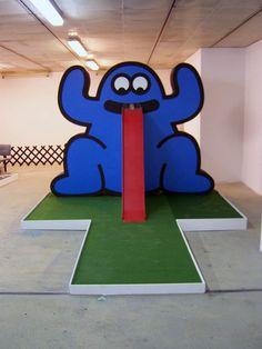 james jarvis custom miniature golf hole