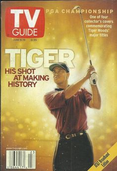 TV Guide magazine Tiger Woods PGA championship Xena MTV Becoming Fear Factor