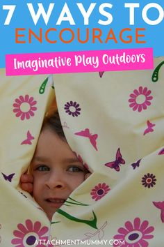 7 Ways to Encourage Imaginative Play Outdoors Newborn Care, Baby Boy Newborn, Baby Boys, Gentle Parenting, Kids And Parenting, Parenting Advice, Children With Autism, Working With Children, School Holidays