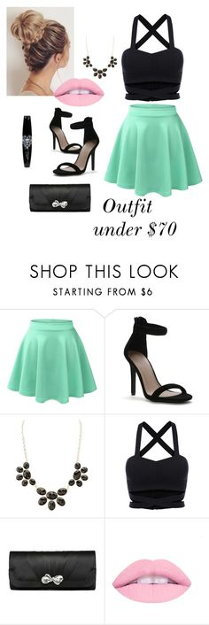 """Formal"" by kr-steins ❤ liked on Polyvore featuring LE3NO, Charlotte Russe, formal, mintgreen, summerdate and summer2016"