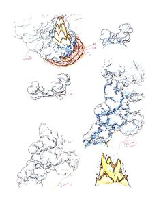"""FX design from the animated series """"Avatar: The Last Air Bender"""""""