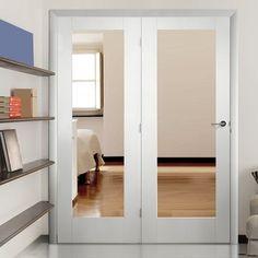 Easi-Frame White Door Set, GWPP10-COEOP39L, 2005mm Height, 1660mm Wide.