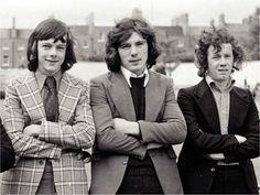 O'Leary, Stapleton and Brady (Arsenal FC) Arsenal Players, Arsenal Football, Arsenal Fc, Belfast Northern Ireland, Everton Fc, Football Cards, Vintage Photography, Football Players, Club