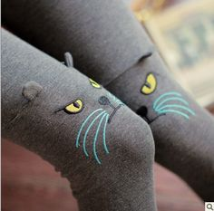 cool Brand new Winter season three dimensional kitty tights Medieval style Ladies comfortable tights leggins calcas femininas leather-based trousers with regard to disco