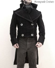 """steampunk couture for men 