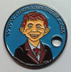 Rare MAD Magazine products | PATHTAG #26232 THE MAD MUSEUM - MAD MAGAZINE ALFRED E NEUMAN GEOCOIN ...