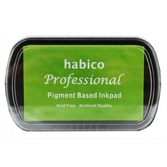 Grass Green Pigment Ink Pad | Stamps at The Works £1 as at 31/12/2014