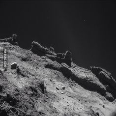 This is what the surface of comet 67P looks like!