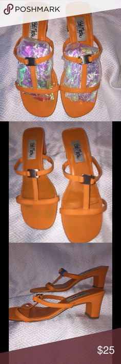 Vintage Bob Mackie sandals What fun! A great color for these Bob Mackie vintage sandals, in very good used condition Bob Mackie Shoes Sandals
