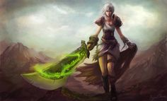 League of Legends-Riven by Showmeyourmoves