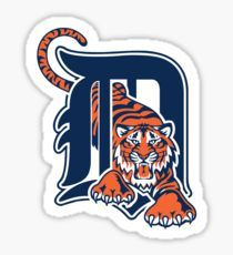 detroit tigers Sticker
