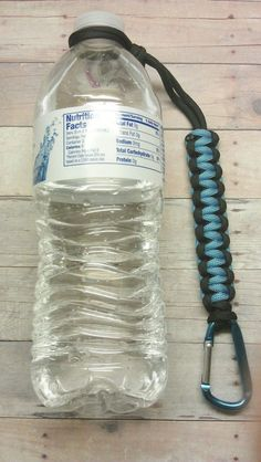 Paracord Survival Bottle/Flashlight Holder by ExtremeParacordGear, $6.00