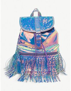 Your princess will stand out from the crowd with this fun sparkly fashion Go Girl Fringe Backpack from Smiggle's Fringe collection which is perfect for school, sport & other activities! Justice Backpacks, Justice Bags, Justice School Supplies, Cute School Supplies, Cute Backpacks, Girl Backpacks, Awesome Backpacks, Frocks For Girls, Little Girl Dresses