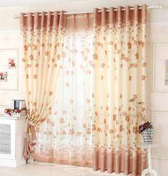 comprar hot new pastorale flor t rojo dormitorio cortina fresca cortina de