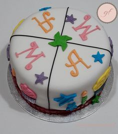 Tarta cumpleaños múltiple