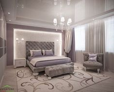 Ideas French Furniture Bedroom For 2019 Master Bedroom Set, Master Bedroom Interior, Home Interior, Home Decor Bedroom, Mirrored Bedroom, Luxury Bedroom Design, Master Bedroom Design, Bedroom Layouts, Suites