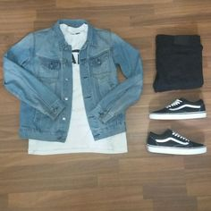 Vans old skool outfit vans outfit men, vans old skool outfit, black vans outfit Vans Old Skool Outfit, Vans Outfit Men, Tomboy Outfits, Dope Outfits, Casual Outfits, Men Casual, Fashion Outfits, Sperrys Outfit, Cochella Outfits