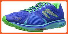 Newton Running Women's Gravity V Dark Blue/Lime Sneaker (11) - Athletic shoes for women (*Amazon Partner-Link)