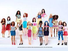 GELEDÉS - Bonecas Barbie ganham 3 novos tipos de corpo, 7 tons de pele e 22 cores de olhos!  | Publicado em 29 de janeiro de 2016 » sexta - atualizado às 12:15h   Leia a matéria completa em: - Geledés  | http://www.geledes.org.br/bonecas-barbie-ganham-3-novos-tipos-de-corpo-7-tons-de-pele-e-22-cores-de-olhos/#ixzz3yevVBz8Q