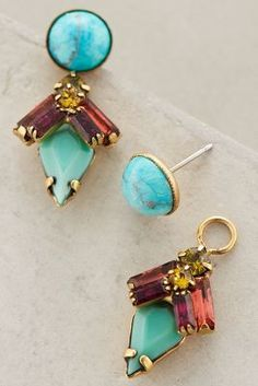 Elizabeth Cole Windward Island Earrings #anthrofave