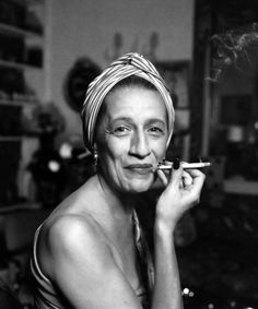 Diana Vreeland (1903-1989) was the iconic editor in chief of Harper's Bazaar and Vogue, credited with creating the modern fashion magazine.