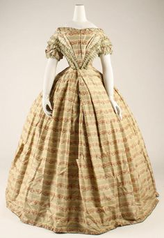 Ensemble option 2 (evening)  Date: 1859–60  Culture: American  Medium: silk