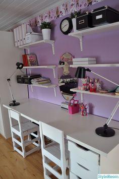 Bildresultat för pysselbord barn Loft, Bed, Furniture, Home Decor, Decoration Home, Room Decor, Lofts, Home Furniture, Interior Design