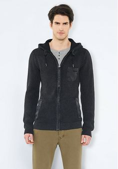 Cardigan fade out black