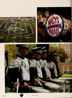 Athena Yearbook, 2006, The Marching 110 performs in the Macy's Thanksgiving Day Parade:: Ohio University Archives