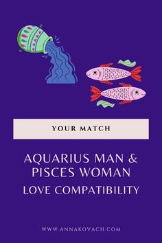 This could be a strange and ethereal pairing for the Aquarius man and Pisces woman. Both signs are known for being eccentric and even transcendent. However, Pisces is known for being empathetic and mystical, and Aquarius is known for being intellectual and logical. Keep reading and find out everything about this match. #zodiac #zodiac_sign #horoscope #sign #astrology #love #relationship #dating #aquarius #aquarius_man #in_love #aquarius_facts #pisces_woman #pisces #woman #dating_pisces…