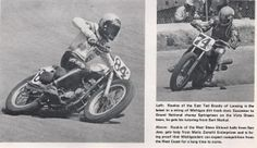 1976 Rookies of the Year: East Coast - Ted Boody #84x and West Coast - Steve Eklund #74z