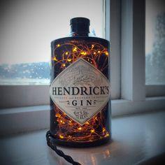 Hendricks Gin Lamp Steampunk Lamp by BlackWolfDesignsShop on Etsy