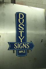 This guy makes old fashioned hand painted signs. Love them.