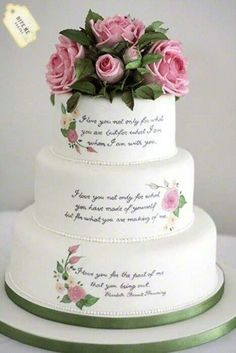 Cakes #food http://pinterest.com/ahaishopping/.. would do Bible verses