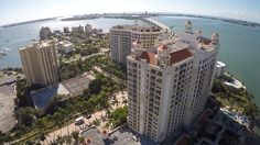 Ritz-Carlton Sarasota, from Tampa Aerial Photographer, Randy with Celebrations of Tampa Bay