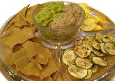 Raw Sunflower Seed Refried Beans -   Raw/vegan Mexicali Chips & Dips