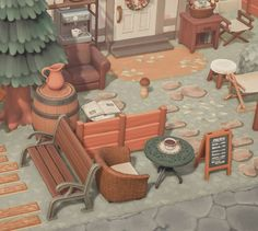 Animal Crossing Villagers, Animal Crossing Pocket Camp, Animal Crossing Game, Outside House Decor, Beach House Decor, Home Decor, Zen Sand, Desktop Zen Garden, Ac New Leaf